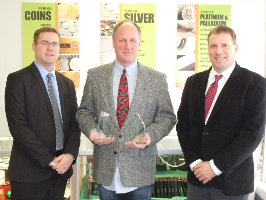 KMG Gold Recycling wins BBB Torch Award