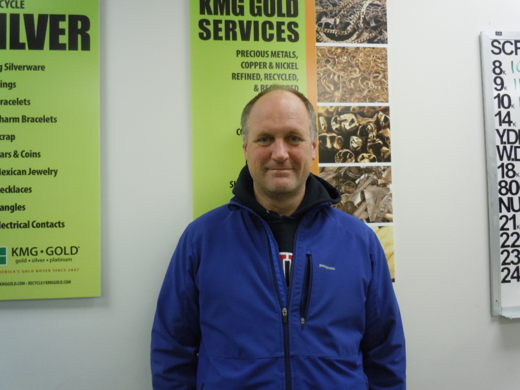 KMG Gold's MIchael Gupton supports Movember