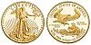 $10, 1/4 Troy Ounce 22k American Gold Eagle, 8.4g KMG Gold